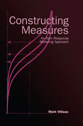 Constructing Measures by Mark Wilson