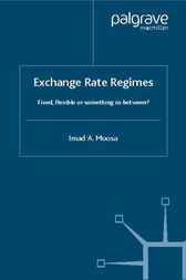 Exchange Rate Regimes by Imad A. Moosa