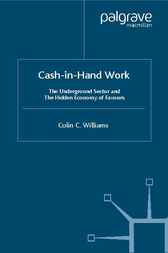 Cash-In-Hand Work by Colin C. Williams