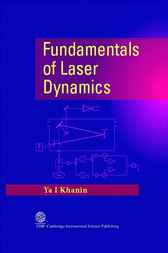 Fundamentals of Laser Dynamics by Ya I. Khanin