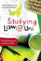 Studying Law at University by Simon Chesterman