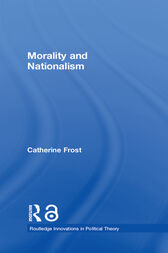 Morality and Nationalism by Catherine Frost