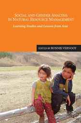 Social and Gender Analysis in Natural Resource Management by Ronnie Vernooy