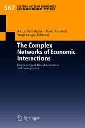The Complex Networks of Economic Interactions by Akira Namatame