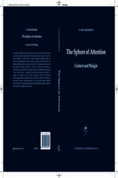 The Sphere of Attention by P. Sven Arvidson