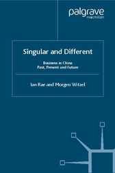 Singular and Different by Ian Rae