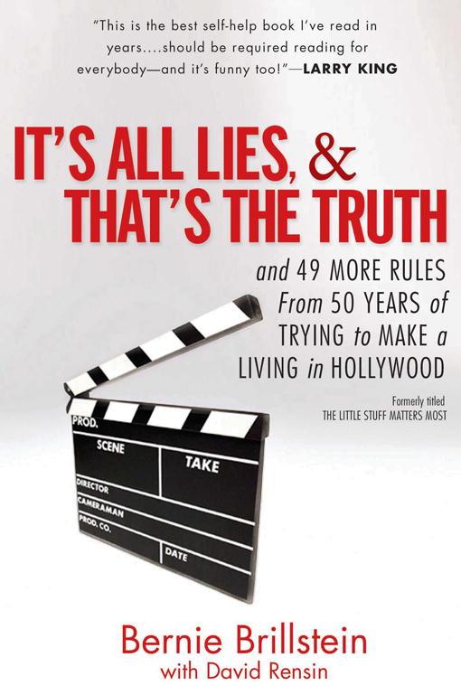 Download Ebook It's All Lies and That's the Truth by Bernie Brillstein Pdf
