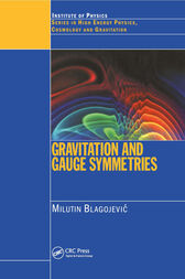Gravitation and Gauge Symmetries by M Blagojevic