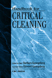Handbook for Critical Cleaning by Barbara Kanegsberg