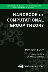 Handbook of Computational Group Theory by Derek F. Holt