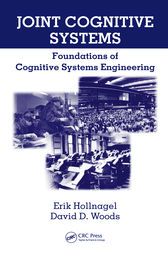 Joint Cognitive Systems by Erik Hollnagel