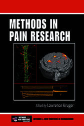 Methods in Pain Research by Lawrence Kruger