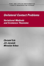 Unilateral Contact Problems by Christof Eck
