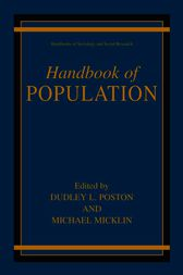 Handbook of Population by Dudley L. Poston