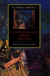 The Cambridge Companion to Contemporary Irish Poetry by Matthew Campbell