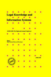 Legal Knowledge and Information Systems by M.-F. Moens