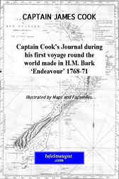 Captain Cook's Journal during his first voyage round the world made in H.M. Bark Endeavour 1768-71 by James Cook