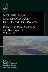 Nature, Raw Materials, and Political Economy by Paul S. Ciccantell