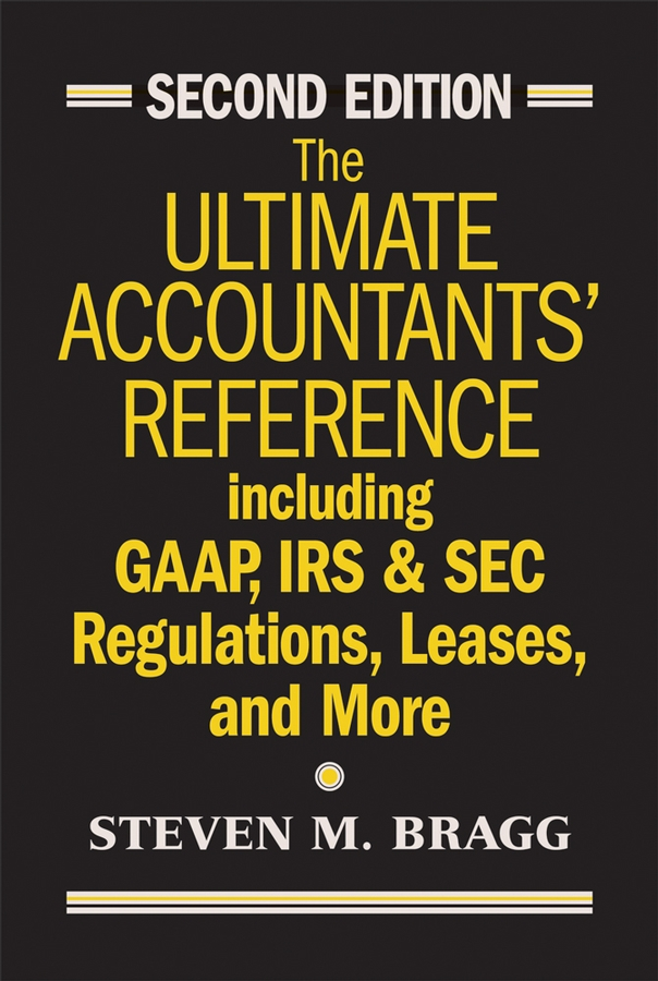 Download Ebook The Ultimate Accountants' Reference. (2nd ed.) by Steven M. Bragg Pdf