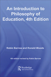 An Introduction to Philosophy of Education by Ronald Woods