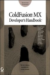 ColdFusion MX Developer's Handbook by Raymond Camden