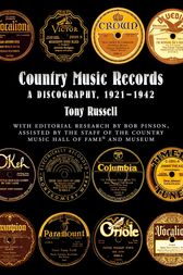 Country Music Records by Tony Russell