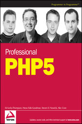 Professional PHP5 by Ed Lecky-Thompson