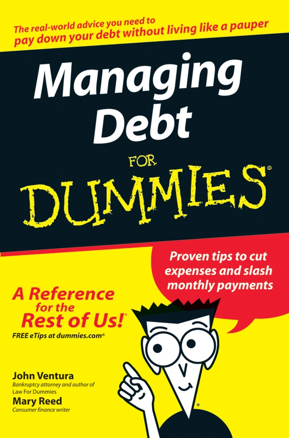 Download Ebook Managing Debt For Dummies by John Ventura Pdf