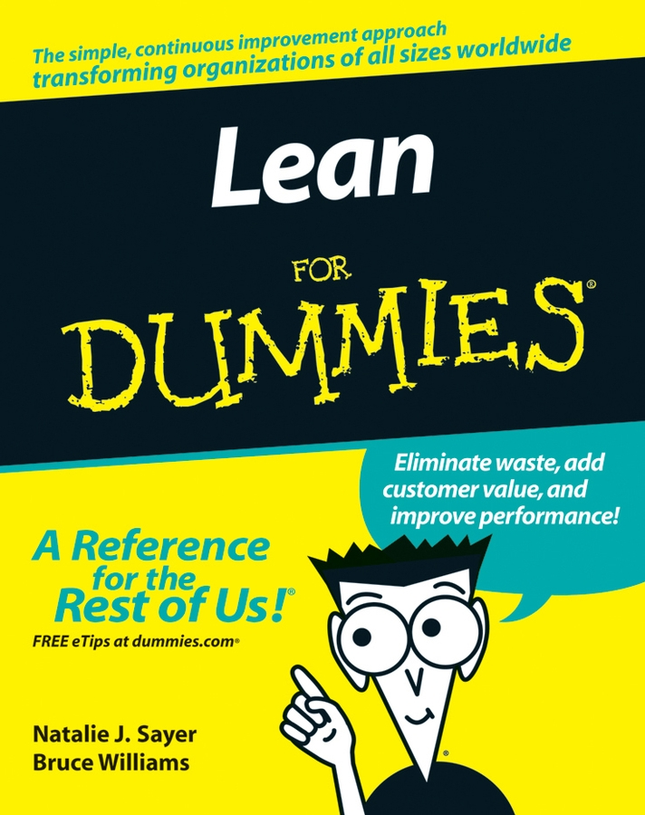 Download Ebook Lean For Dummies by Natalie J. Sayer Pdf