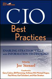 CIO Best Practices by Joe Stenzel