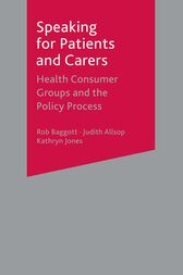 Speaking for Patients and Carers by Rob Baggott