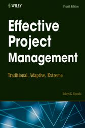 Effective Project Management by Robert K. Wysocki