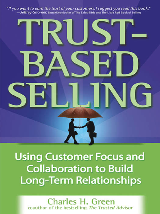 Download Ebook Trust-Based Selling by Charles H. Green Pdf