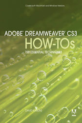 Adobe Dreamweaver CS3 How-Tos by David Karlins