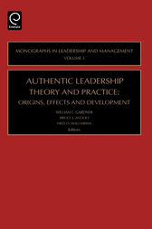 Authentic Leadership Theory and Practice: Origins, Effects and Development