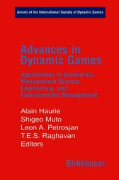 Advances in Dynamic Games by Alain Haurie