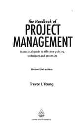 Download Ebook The Handbook of Project Management (2nd ed.) by Trevor L Young Pdf