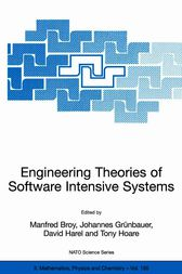 Engineering Theories of Software Intensive Systems by Manfred Broy