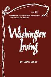 Washington Irving by Lewis Leary