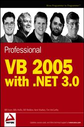 Professional VB 2005 with .NET 3.0 by Bill Evjen