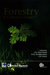 Forestry and Climate Change by P.H. Freer-Smith