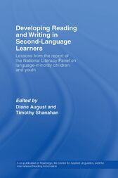 Developing Reading and Writing in Second-Language Learners by Timothy Shanahan