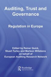 Auditing, Trust and Governance by Reiner Quick