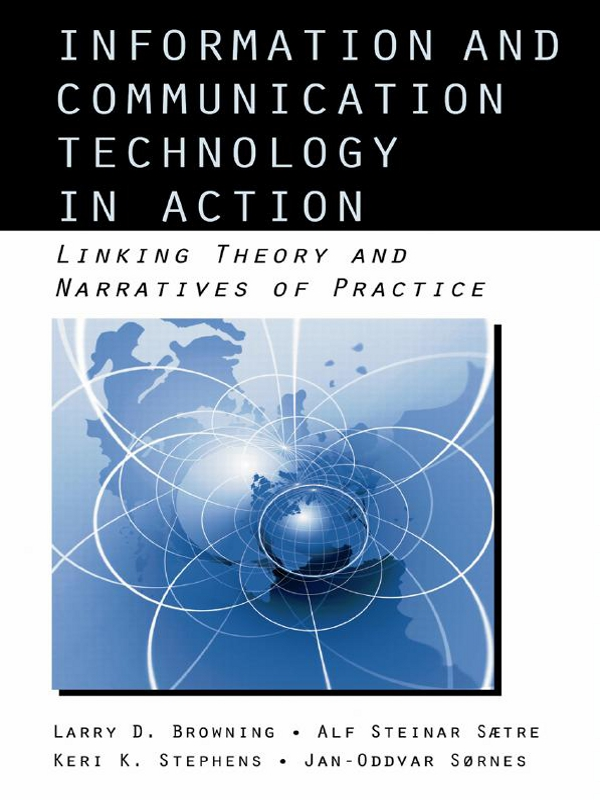 Download Ebook Information and Communication Technologies in Action by Larry D. Browning Pdf