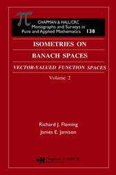 Isometries in Banach Spaces by Richard J. Fleming