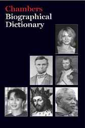 Biographical Dictionary 2007 by Camilla Rockwood