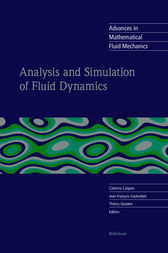 Analysis and Simulation of Fluid Dynamics by Caterina Calgaro