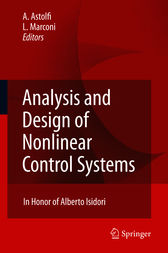 Analysis and Design of Nonlinear Control Systems by Alessandro Astolfi