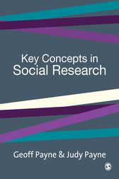 Key Concepts in Social Research by Geoff Payne