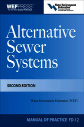 Alternative Sewer Systems FD-12, 2e by Water Environment Federation